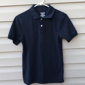 ISO's boy's navy short sleeve tee polo shirt